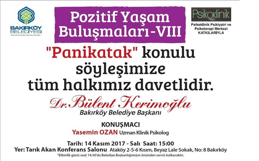 POZİTİF YAŞAM BULUŞMALARI - VIII