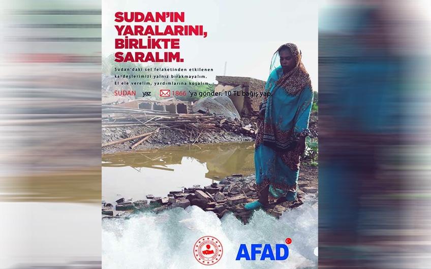 AFAD Sudan İnsani Yardım Kampanyası