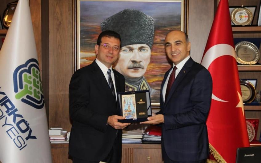 İBB Başkanı Ekrem İmamoğlu Belediyemizi ve İlçemizi Ziyaret etti